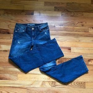 Aeropostale Chelsea Boot Cut Jeans Size 2 Short